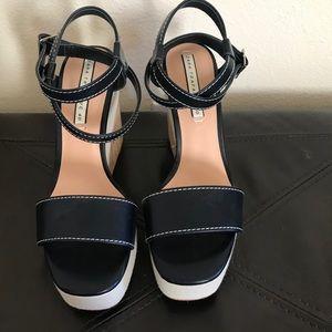 Zara High Heel Wedges